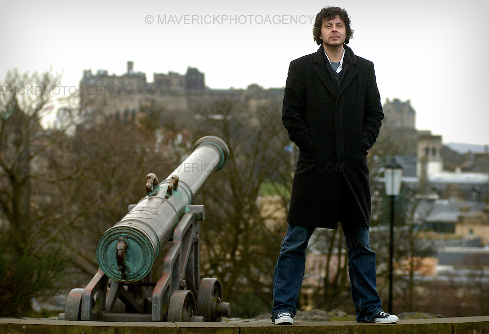 Edinburgh film director Craig Collinson who has been commissioned to film a re-enactment of the battle of Culloden.