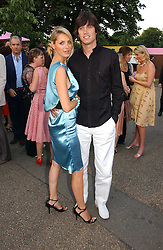 TV presenters TESS DALY and VERNON KAY  at the Serpentine Gallery Summer party sponsored by Yves Saint Laurent held at the Serpentine Gallery, Kensington Gardens, London W2 on 11th July 2006.<br /><br />NON EXCLUSIVE - WORLD RIGHTS