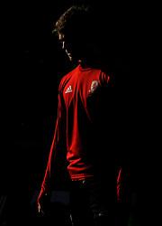 Middlesbrough players warm up - Mandatory by-line: Nizaam Jones/JMP - 17/02/2018 -  FOOTBALL - Cardiff City Stadium - Cardiff, Wales -  Cardiff City v Middlesbrough - Sky Bet Championship