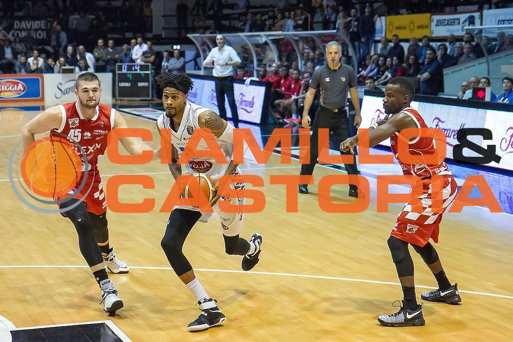 Raphiael Putney<br /> Pasta Reggia Caserta - The Flexx Pistoia<br /> Lega Basket Serie A 2016/2017<br /> Caserta 24/10/2016<br /> Foto Ciamillo-Castoria