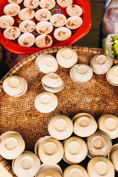 Banh beo snacks. Hue, Vietnam