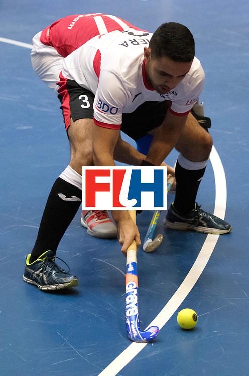 BERLIN - Indoor Hockey World Cup<br /> Czech Republic - Trinidad &amp; Tobago<br /> foto: VIEIRA Andrew<br /> WORLDSPORTPICS COPYRIGHT FRANK UIJLENBROEK