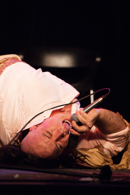 Aparna Nancherla & Guy Branum as Mike Nichols and Elaine May - Schtick or Treat 2013 - Littlefield, Brooklyn - October 27, 2013