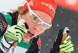 20.02.2016, Salpausselkae Stadion, Lahti, FIN, FIS Weltcup Langlauf, Lahti, Damen, im Bild Hanna Kolb (GER) // Hanna Kolb of Germany reacts during Ladies FIS Cross Country World Cup, Lahti Ski Games at the Salpausselkae Stadium in Lahti, Finland on 2016/02/20. EXPA Pictures © 2016, PhotoCredit: EXPA/ JFK