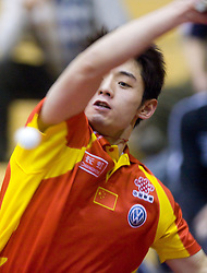 Zhang Jike of China at 10th Slovenian Open Table Tennis Championships - Pro Tour Velenje Slovenian Open tournament, in Round 1, on January 15, 2009, in Red sports hall, Velenje, Slovenia. (Photo by Vid Ponikvar / Sportida)
