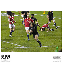 British & Irish Lions;All Blacks at the British & Irish Lions v. All Blacks Third Test at Eden Park, Auckland, New Zealand.<br />