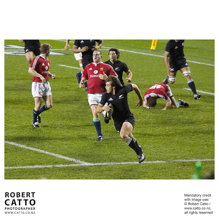 British &amp; Irish Lions;All Blacks at the British &amp; Irish Lions v. All Blacks Third Test at Eden Park, Auckland, New Zealand.<br />