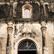 Iglesia de la Merced is regarded as one of the most beautiful of Granada's churches. It was originally built in 1539, but in subsequent centuries it was destroyed or damaged and rebuilt several times. The current baroque facade dates to 1783. The church's most recent renovation came after being being damaged by William Walker's men in 1854, with the restoration done in 1862.