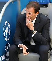 Massimiliano Allegri <br /> Berlino 06-06-2015 OlympiaStadion  <br /> Juventus Barcelona - Juventus Barcellona <br /> Finale Final Champions League 2014/2015 <br /> Foto Schuler/Eibner-Pressefoto/Expa/Insidefoto