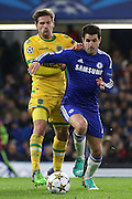 Chelsea's Cesc Fàbregas during the UEFA Champions League match between Chelsea and Sporting Lisbon at Stamford Bridge, London, England on 10 December 2014.