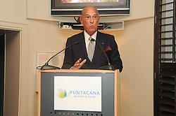 A party to promote the exclusive Puntacana Resort & Club - the Caribbean's Premier Golf & Beach Resort Destination, was held at The Groucho Club, 45 Dean Street London on 12th May 2010.<br /> <br /> Picture shows:- OSCAR DE LA RENTA