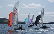 Largs Regatta Festival 2018<br /> <br /> Day 1- RS200 Fleet, downwind<br /> <br /> Images: Marc Turner