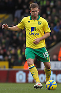 Picture by David Horn/Focus Images Ltd +44 7545 970036.26/01/2013 .David Fox of Norwich City during the The FA Cup match at Carrow Road, Norwich.