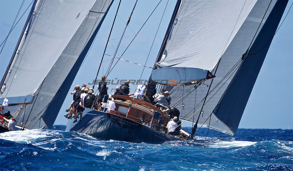 The SuperYacht Cup 2013,day 4 coastal race , ©jrenedo