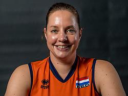22-09-2017 NED: Portret zitvolleybalsters Oranje 2017-2018, Leersum<br /> Nederland bereidt zich voor op het komende EK zitvolleybal / Jacqueline Koppers #7