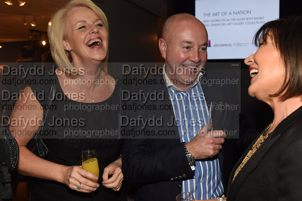 MAJELLA OWENS;  JEN KELLY; POLLY MCGETTIGAN;  The Arthur Cox Irish Fashion Showcase 2015,  Irish based designers chosen to be part of this year's Arthur Cox Irish Fashion Showcases The Mall Galleries, London. 13 May 2015.
