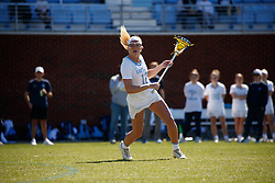 CHAPEL HILL, NC - MARCH 02: Ally Mastroianni #12 of the North Carolina Tar Heels during a game against the Northwestern Wildcats on March 02, 2019 at the UNC Lacrosse and Soccer Stadium in Chapel Hill, North Carolina. North Carolina won 11-21. (Photo by Peyton Williams/US Lacrosse)