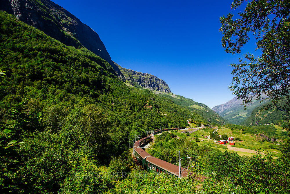 FLAAM, SOGN AND FJORDANE, NORWAY. Sale on request. Photo by Morten Rakke.