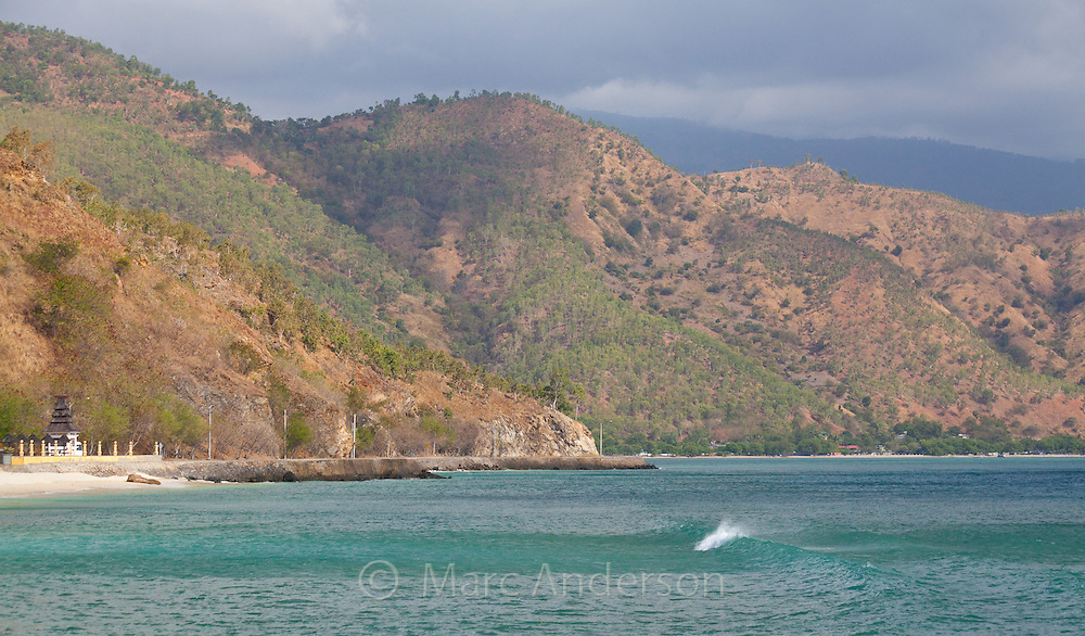 Beach and coast of Dili, East Timor