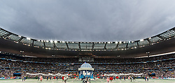 10.06.2016, Stade de France, St. Denis, FRA, UEFA Euro, Frankreich, Frankreich vs Rumaenien, Gruppe A, ERöffnungsfeier, im Bild Uebersicht der Eroeffnungsfeier // Overview during Opening Ceremony before Group A match between France and Romania of the UEFA EURO 2016 France at the Stade de France in St. Denis, France on 2016/06/10. EXPA Pictures © 2016, PhotoCredit: EXPA/ JFK