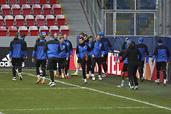 March 14, 2018 - Na - Prague, 03/14/2018 - Training of Viktoria Plzen at the Doosan Arena in the preparation of the match against Sporting, 2nd place in the last 16 of the Europa League 2017/18. Horava  (Credit Image: © Atlantico Press via ZUMA Wire)