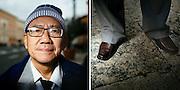 Bui Tuan. 59 years old. Ho Chi Min.<br /> Rome 08 December 2015. Christian Mantuano / OneShot