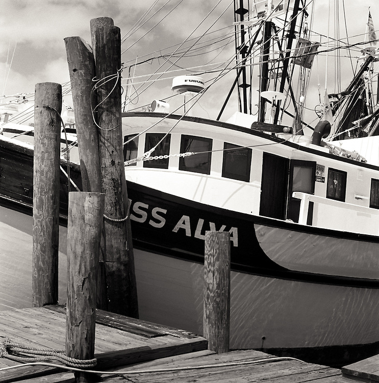 The Miss Alva docked at the Magwood's Seafood docks.
