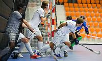 ROTTERDAM - NK Zaalhockey hoofdklasse. FOTO KOEN SUYK