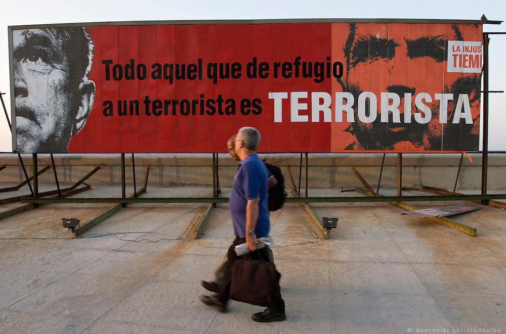 Political poster in Havana - CUBA