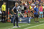 Manchester United Manager Jose Mourinho during the International Champions Cup match between Barcelona and Manchester United at FedEx Field, Landover, United States on 26 July 2017.