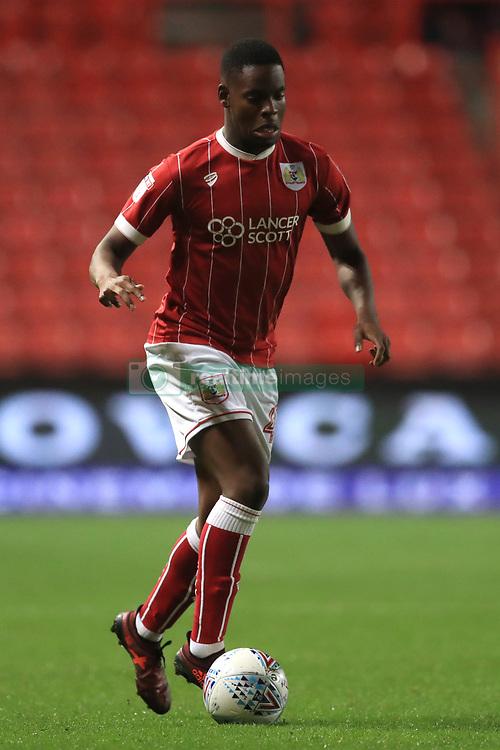 Bristol City's Jonathan leko