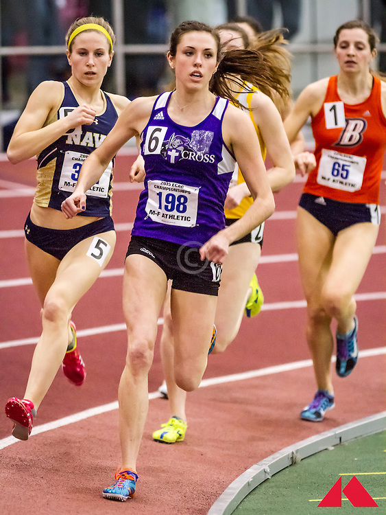 ECAC Indoor Champs, womens 1000 heats, Carley, Caroline          JR Holy Cross