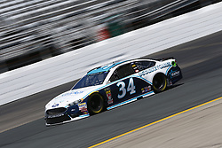 July 20, 2018 - Loudon, New Hampshire, United States of America - Michael McDowell (34) takes to the track to practice for the Foxwoods Resort Casino 301 at New Hampshire Motor Speedway in Loudon, New Hampshire. (Credit Image: © Justin R. Noe Asp Inc/ASP via ZUMA Wire)