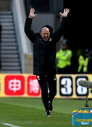 Middlesbrough manager Steve Agnew celebrates Marten de Roon of Middlesbrough scoring a goal - Mandatory by-line: Robbie Stephenson/JMP - 26/04/2017 - FOOTBALL - Riverside Stadium - Middlesbrough, England - Middlesbrough v Sunderland - Premier League