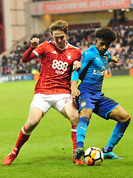 FORESTS KIERAN DOWELL  Nottingham Forest v Arsenal Emirates FA Cup Third Round, City Ground Sunday 7th January 2018