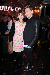 PIXIE GELDOF and HENRY HOLLAND at a party to celebrate the launch of Lulu & Co held at the Fifth Floor Cafe, Harvey Nichols, Knightsbridge, London on 21st October 2010.