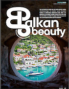 Feature on the Croatian Islands in Dutch travel magazine Columbus. Summer 2013.