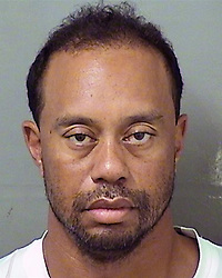 May 29, 2017 - Palm Beach, Florida, U.S. - This image provided by the Palm Beach County Sheriff's Office shows TIGER WOODS following his arrest. Tiger Woods was arrested in the early hours of Monday morning on charges of driving under the influence. The former world No1 golfer was taken into custody near his home on Jupiter Island, Florida. According to Palm Beach County police, he was arrested at 3am, booked into jail around 7am and released at 10.50am. (Credit Image: © Palm Beach County Sheriff via ZUMA Wire)