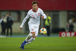 March 21, 2019 - Vienna, Austria - Grzegorz Krychowiak of Poland controls the ball during the UEFA European Qualifiers 2020 match between Austria and Poland at Ernst Happel Stadium in Vienna, Austria on March 21, 2019  (Credit Image: © Andrew Surma/NurPhoto via ZUMA Press)