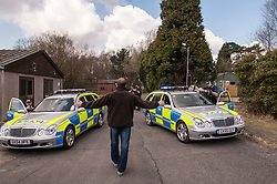 Police armed response team