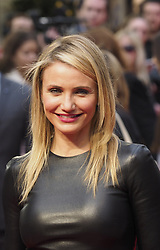 US actress Cameron Diaz arrives for the Premiere of her latest film, 'The Other Woman' in  London, United Kingdom. Wednesday, 2nd April 2014. Picture by Max Nash / i-Images