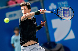 Aljaz Bedene of Slovenia playing in Final match at Day 10 of ATP Challenger Zavarovalnica Sava Slovenia Open 2019, on August 18, 2019 in Sports centre, Portoroz/Portorose, Slovenia. Photo by Vid Ponikvar / Sportida