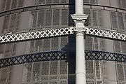 Kings Cross Gasholders, London. November 2016. Facade engineering and installation by Frener & Reifer. Engineer: Arup. Architect: Wilkinson Eyre.