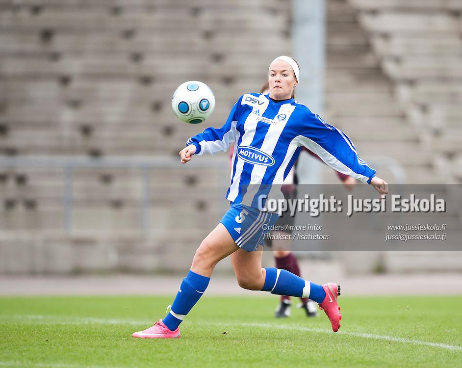 HJK - FC United. Naisten Liiga. 9.5.2009. Photo: Jussi Eskola