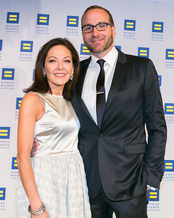 Architectural Digest editor Margaret Russell and HRC President Chad Griffin at the HRC's Greater NY Gala 2014 held at the Waldorf=Astoria in New York City on Saturday, February 8, 2014. (Photo: JeffreyHolmes.com)