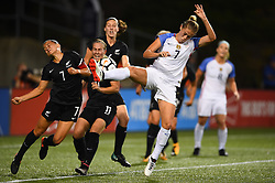 September 19, 2017 - Cincinnati, OH, USA - Cincinnati, OH - Tuesday September 19, 2017:  during an International friendly match between the women's National teams of the United States (USA) and New Zealand (NZL) at Nippert Stadium. (Credit Image: © Brad Smith/ISIPhotos via ZUMA Wire)