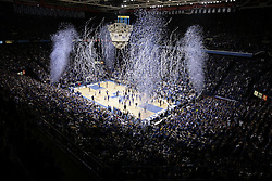 UK celebrated its 2,000th victory Monday, Dec. 21, 2009 at Rupp Arena in Lexington, Ky. UK defeated Drexel 88-44.  Photo by Jonathan Palmer
