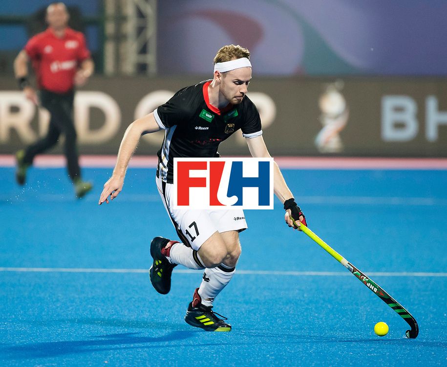 BHUBANESWAR - The Odisha Men's Hockey World League Final . Match ID 05 . Germany  v Australia . Christopher Ruehr (Ger)  WORLDSPORTPICS COPYRIGHT  KOEN SUYK