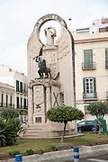 The Statue Grande Libre monument of 1936, Melilla autonomous city state Spanish territory in north Africa, Spain