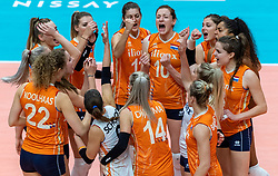 20-10-2018 JPN: Final World Championship Volleyball Women day 18, Yokohama<br /> China - Netherlands 3-0 / Team Netherlands
